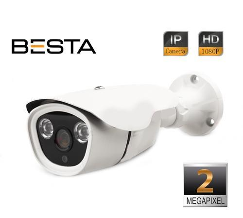 2MP 1080P IR BULLET IP KAMERA+SES DESTEKLİ BT-5240