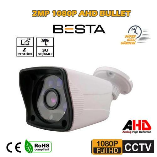 1080p AHD 2.0 MP  FULL HD Güvenlik Kamerası ( BT-9138)