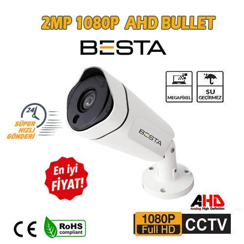 2 MP 1080P FULL HD Güvenlik Kamerası BT-9322