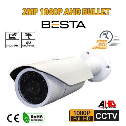 2 MP Metal Kasa 42 Led 3.6mm Ahd Kamera BT-9457