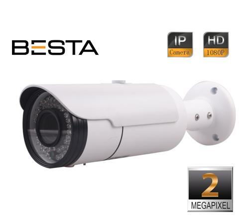 2MP IP BULLET KAMERA 2.8-12MM LENS BT-5260