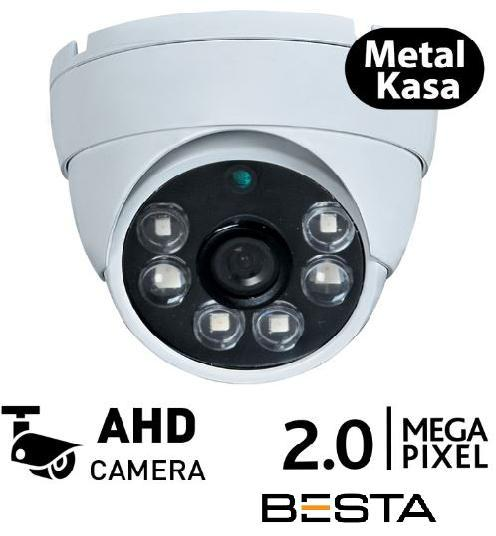 2MP METAL KASA AHD ATOM LED DOME KAMERA BT-7845