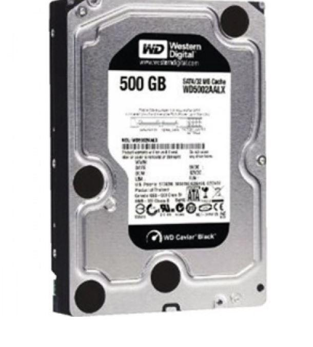 500 Gb Western Digital Harddisk