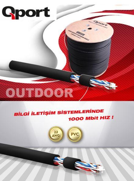 qport dış ortam kablosu fiyatı